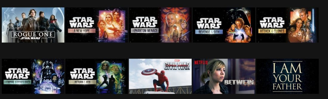 As of September 7th you can stream all these Star Wars movies on Dutch Netflix
