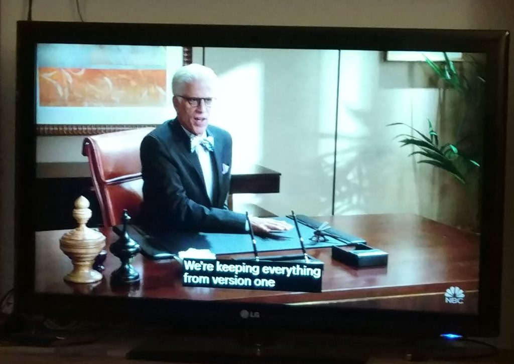The Good Place on TV