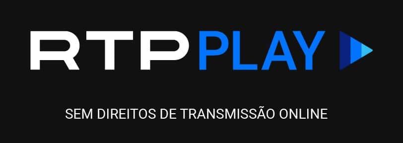 Mensagem de erro se você tentar assistir a RTP do exterior