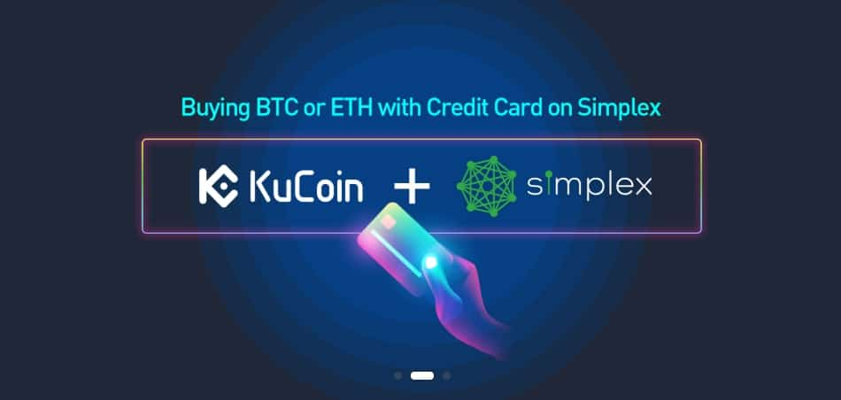 Buy BTC, LTC, and ETH with your credit card on Kucoin