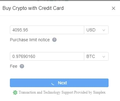 buy crypto on kucoin
