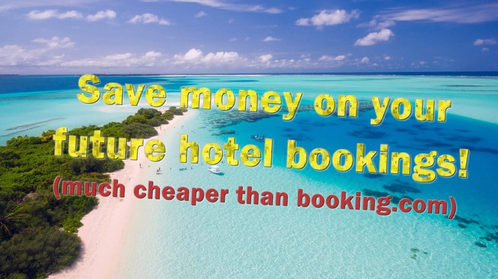 A hotel-booking site much cheaper than Booking.com