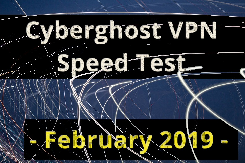 Testing the Cyberghost VPN speeds!