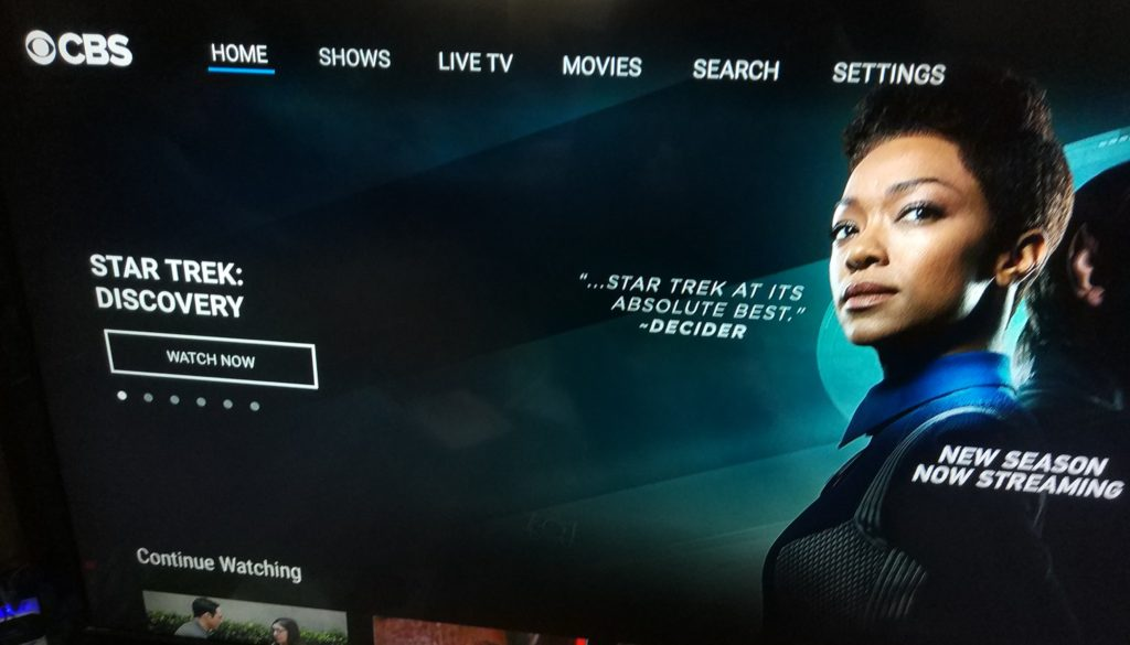 Lots of content to stream inside the CBS All Access application on the Amazon Fire TV