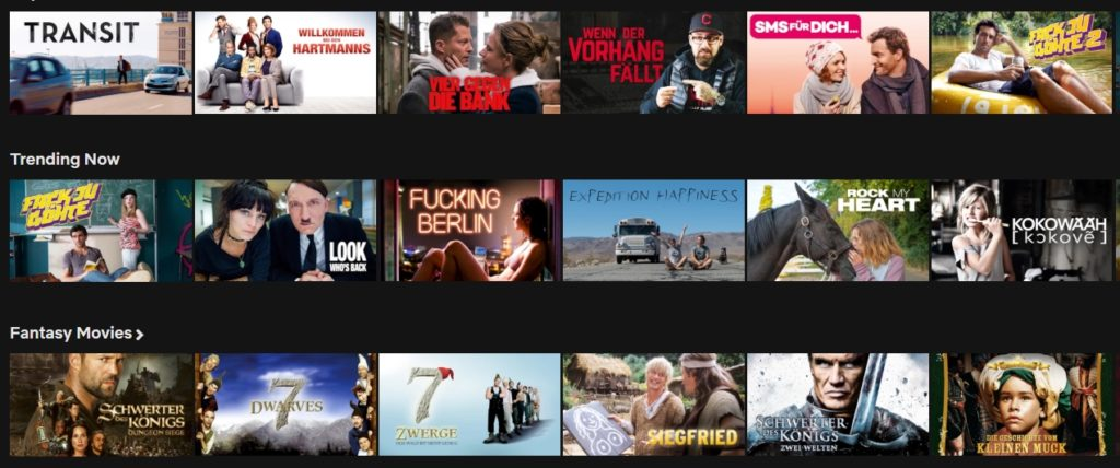 How to watch German Netflix abroad?
