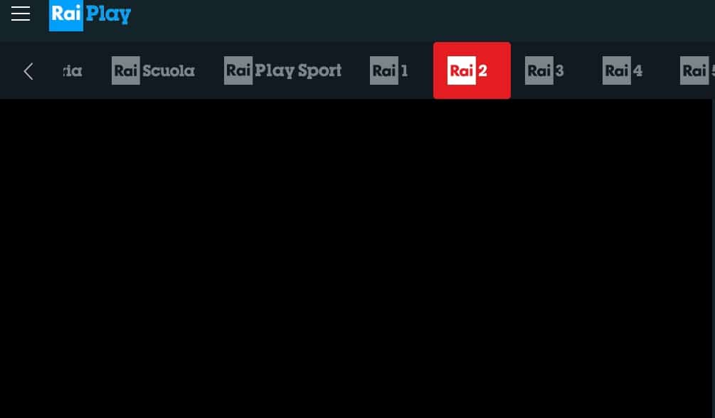 If you try to watch RAI outside Italy, you might notice that the live stream simply will not start.