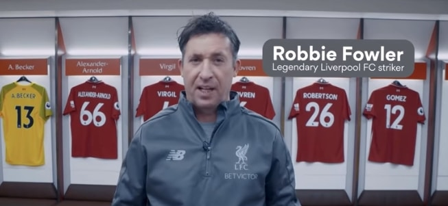 The legendary Liverpool striker Robbie Fowler uses NordVPN to stay safe online!
