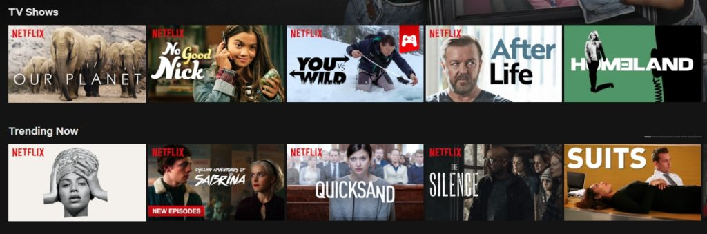 Can I watch Netflix outside my home country?