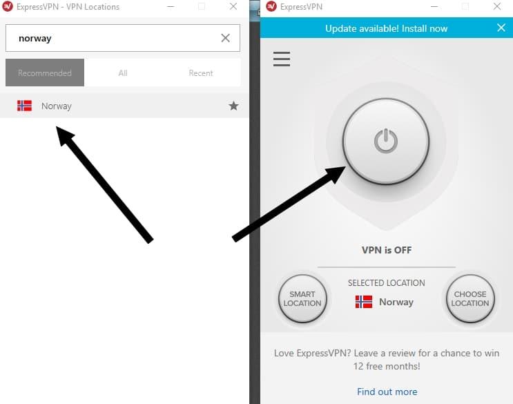 Få norsk IP adresse med ExpressVPN som lar deg se NRK i utlandet