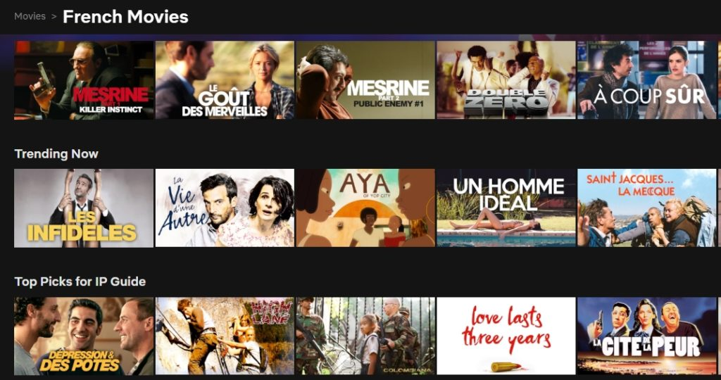 How to watch French Netflix in Canada?