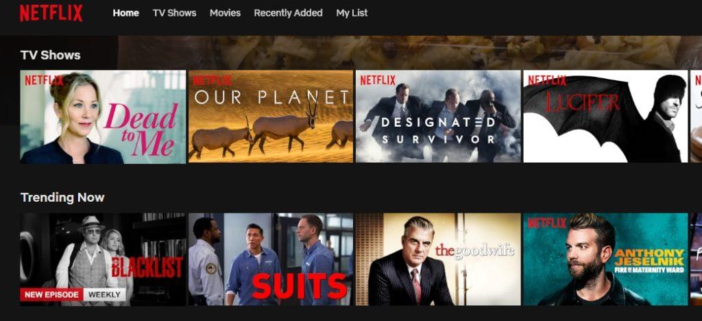 Få tilgang til spennende Netflix regioner med NordVPN