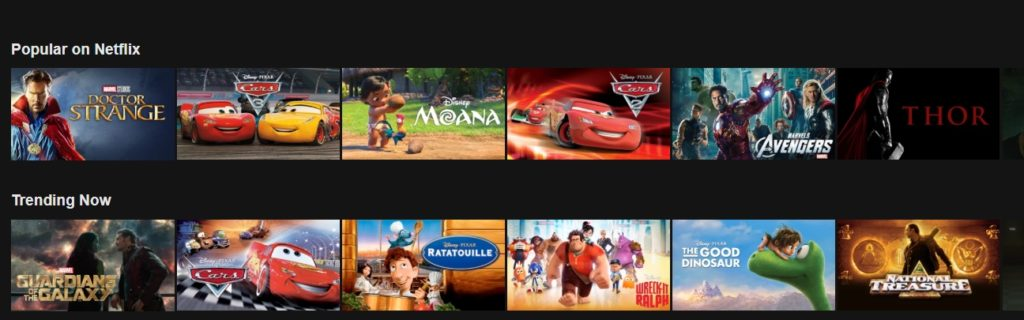 It is easy to access Indian netflix with Surfshark