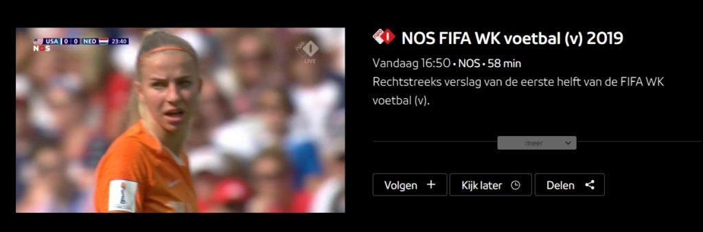 Kijken naar de Wereldbeker voetbal 2019 finale tussen Nederland en de VS op de NPO met ExpressVPN.