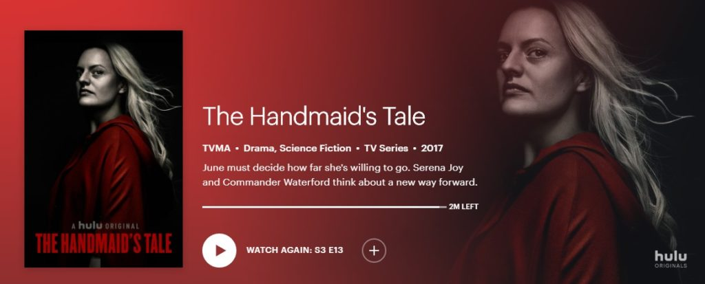 Some thoughts on the season finale of The Handmaid's Tale