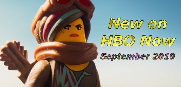 New on HBO Now September 2019