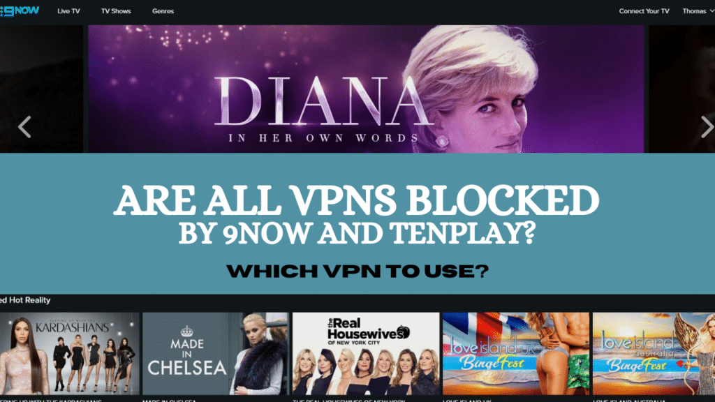 10Play and 9Now VPN block - [July 2020 Status]