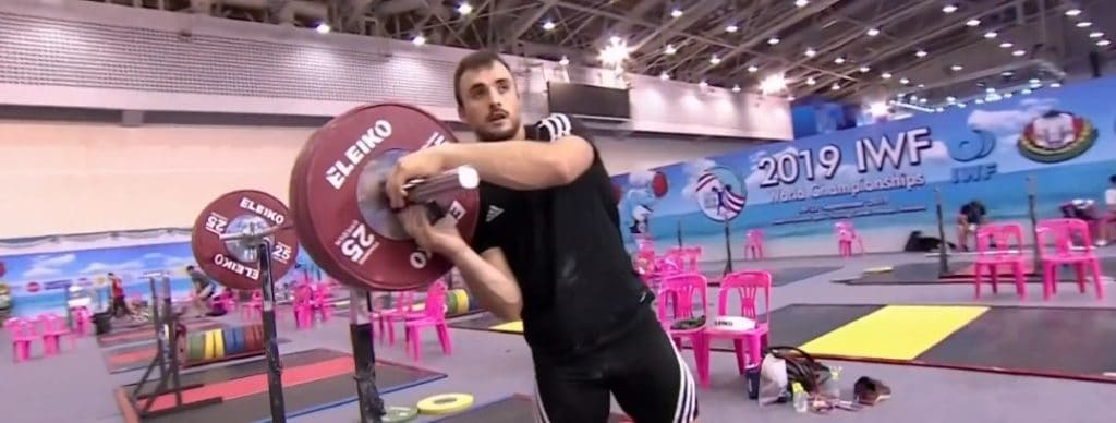 From the World Weightlifting Championships in 2019