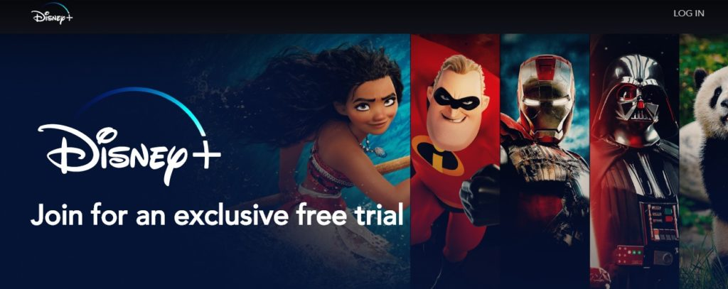 Would you like to sign up for the Disney+ exclusive free trial in the Netherlands?