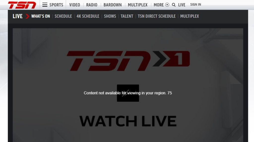 How to watch TSN abroad? All you need to know!