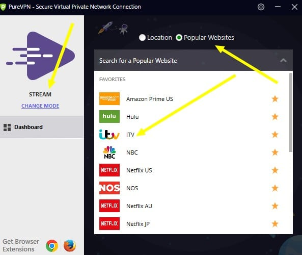 Unblocking ITV and the Rugby World Cup with PureVPN