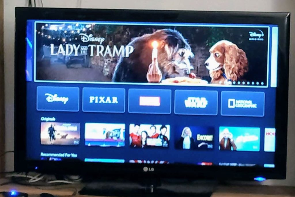 Disney Plus is up and running on my Fire TV