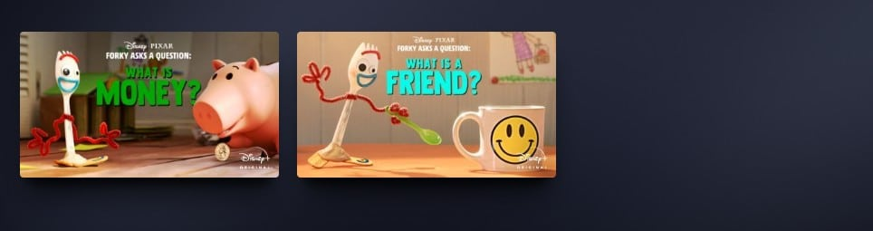 Forky Asks a Question on Disney Plus - But, who is it for?