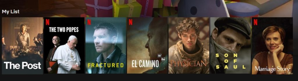 Some great movies on Netflix for New Year's Eve in 2019