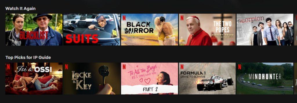 No more error code on Netflix