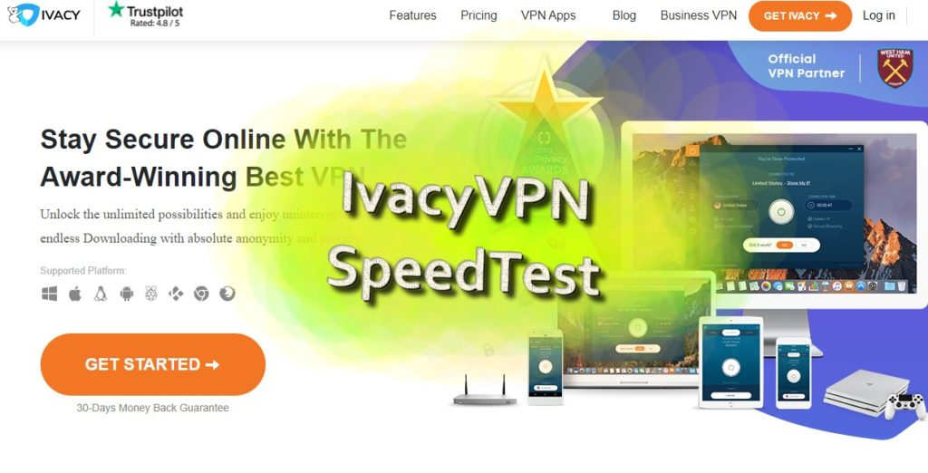 The most terrible speed test results ever... (IvacyVPN)