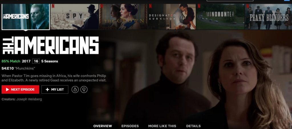 The Americans Netflix