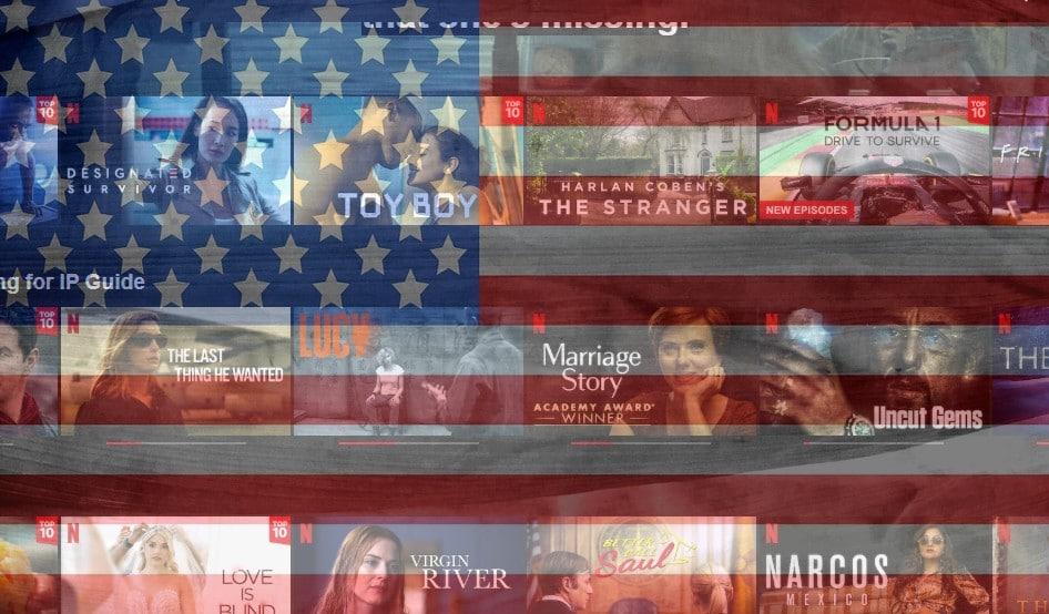 Amerikansk Netflix-konto
