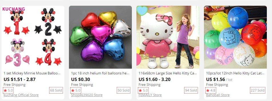 Buy Balloons for the quaratine