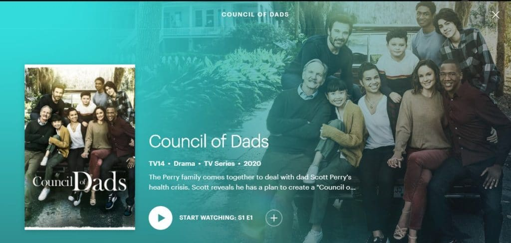 Council of Dads on Hulu