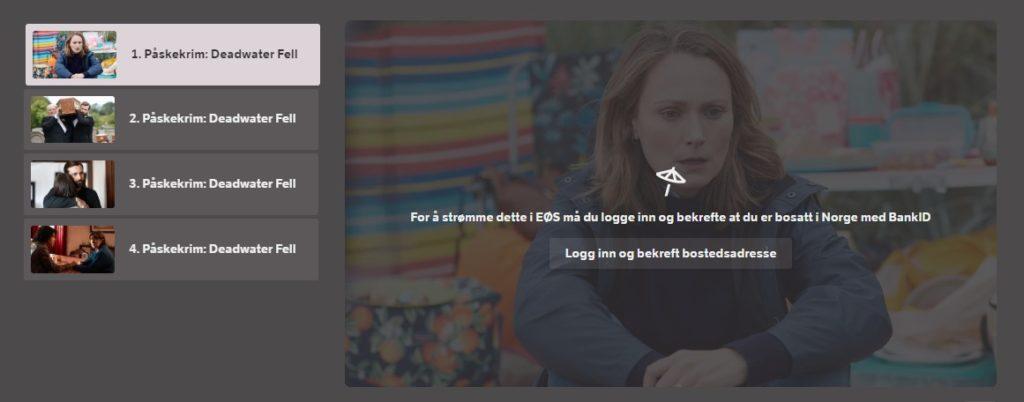 Deadwater Fell on NRK