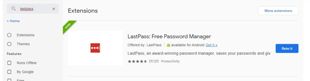 Can I use LastPass password manager in Brave Browser?