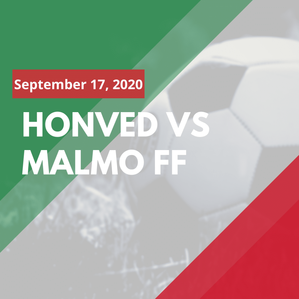 Where to watch Budapest Honved - Malmo FF online (September 17, 2020)