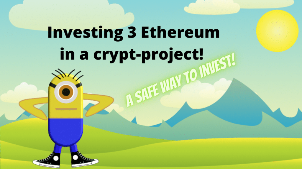 Want to invest 3 Ethereum in a cryptocurrency? Use a liquidity pool to get the most from it!
