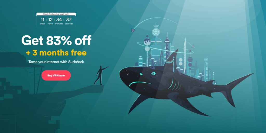 SurfsharkVPN Black Friday deal