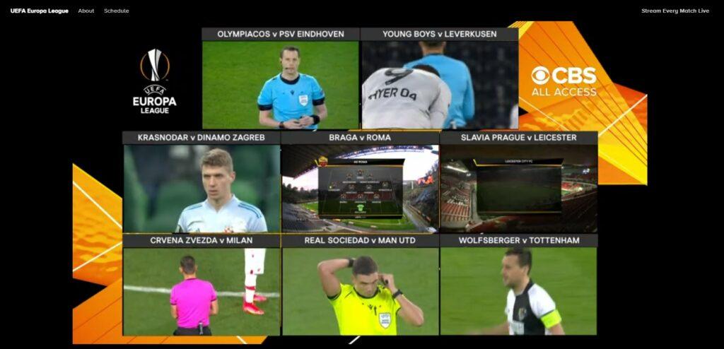 europe league online