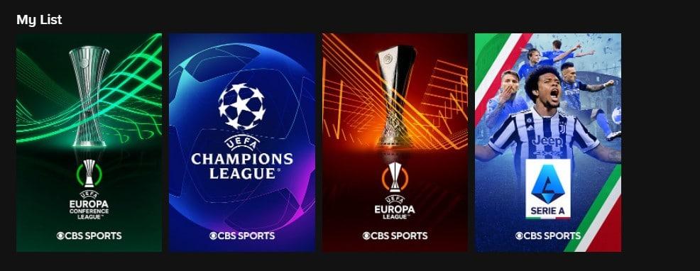 europe league, europe confederations league, serie a, champions league
