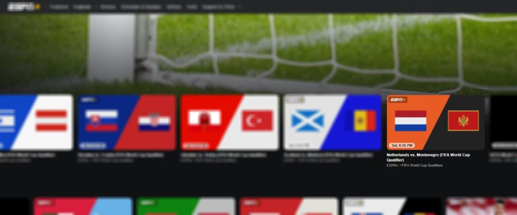 netherlands vs montenegro online