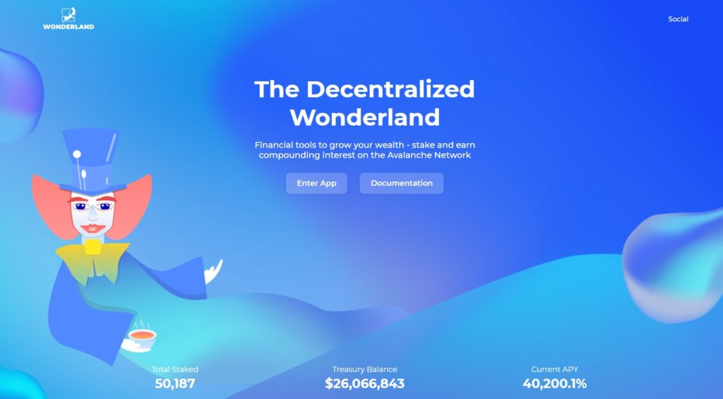 Wonderland crypto - Time token