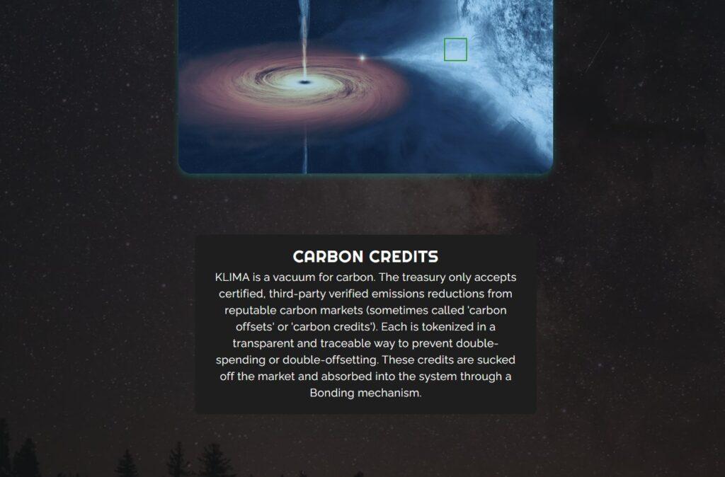 klima dao carbon credits