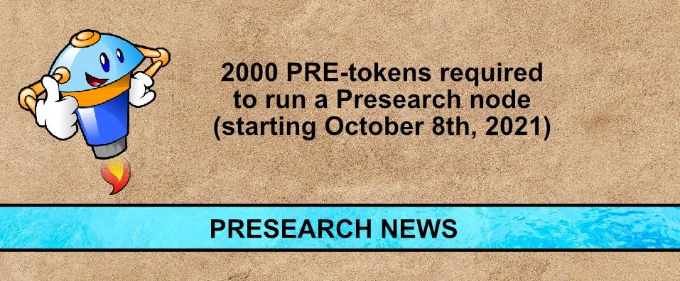 presearch news